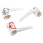 6 Blowouts Cupcake Plastic / Paper 30 cm
