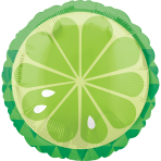 Standard Tropical Lime Foil Balloon S40 Packaged