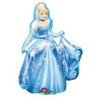 "AirWalkers ""Cinderella"" Foil Balloon, P93, packaged, 76 x 135 cm"