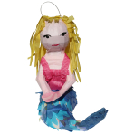 Pinata Be a Mermaid Paper / Foil 14.5 x 38.5 x 39.8 cm