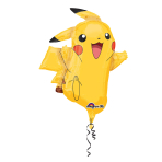 "SuperShape ""Pikachu"" Foil Balloon, P38, packed, 62 x 78 cm"