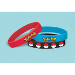 6 Rubber Bracelets Pokemon Core