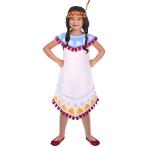 Children's costume Tepee &Tomahawk Girl 4-6 years
