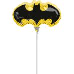 Mini Batman Foil Balloon A30 Air-filled
