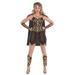 Adult Costume Warrior Princess Size L