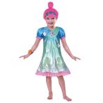 Children's Costume Poppy Troll 5-6 years