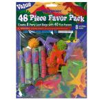 Value Favour Pack Prehistoric Party 48 Pieces