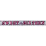 Banner Sweet 16