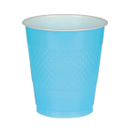 10 Cups Plastic Carribean 355 ml