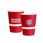 8 Cups FC Bayern Munich Paper 250 ml