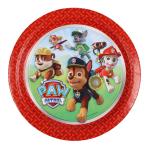 8 Plates Paw Patrol 23 cm