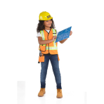 Child Costume Kit Construction Worker Age 4 - 6 Years