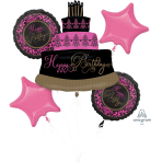 "Bouquet ""Fabulous Celebration"" Foil Balloon,   P75, packed"