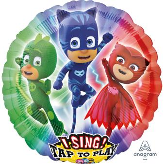 """Sing-A-Tune """"PJ Masks"""" Foil Balloon  , P75, packed, 71 x 71cm"""