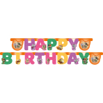 Letter Banner 44 Cats Paper