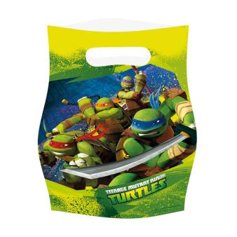 6 Loot Bags Teenage Mutant Ninja Turtles