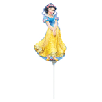 Mini Shape Snow White Foil Balloon A30 Bulk