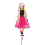 SuperShape Barbie Sparkle FoilBalloon P38 Packaged 53 x 106 cm