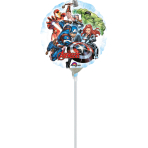 """9"" ""Avengers"" Foil Balloon Round, A20, bulk, 23 cm"