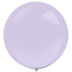 "4 Latex Balloons Decorator Fashion Lavender 61 cm / 24"""