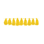Tassel Garland Yellow 3 m