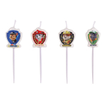 4 Mini Pick Candles Paw Patrol