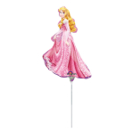 Mini Shape Sleeping Beauty Foil Balloon A30 Air Filled