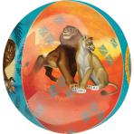 Orbz Lion King Foil Balloon G40 Packaged 38cm x 40cm
