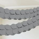Garland Silver Paper 365 cm