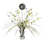 Spray Centrepiece 40 Sparkling Celebration - Gold Foil / Paper 45.7 cm