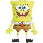 SuperShape SpongeBob SquarePants Foil Balloon P38 Packaged