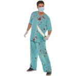 Adult Costume Bloody Scrubs Size M/L