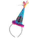 Head Band with Party Cone Hat Birthday Chic Paper / Fabric Height 11.9 x 31.7 cm