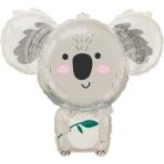 SuperShape Koala Foil Balloon P35 packaged