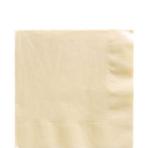 50 Napkins Vanilla Creme 33 x 33 cm