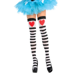 Tights Hearts & Stripes One Size