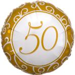 Standard Silberhochzeit 50 Jahre S40 Packaged 43 cm