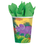 8 Cups Prehistoric Party Paper 266 ml