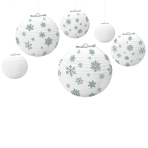 6 Lanterns Winter Paper 20.4 cm / 25.4 cm / 30.4 cm