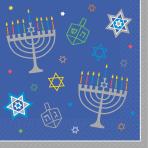 36 Napkins Eight Happy Nights Hanukkah 33 x 33 cm