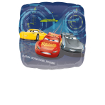 "Standard ""Cars 3 - Lightning  McQueen"" Foil Balloon, S60, packed, 86 x 81cm"