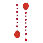 3 Balloon Tails for 11 Balloons Heart 50.8 cm