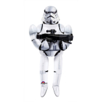 "AirWalkers ""Storm Trooper"" Foil Balloon, P93, packaged, 83 x 177 cm"