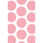 10 Paper Treat Bags Polka Dot New Pink 11.3 x 17.7 cm