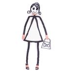 Adult Costume Stickwoman Size