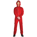 Adult Costume Money Heist Size XL