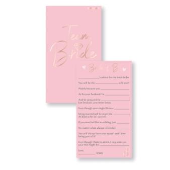 Cards Hen Party Paper 17 x 10 cm 8 Parts