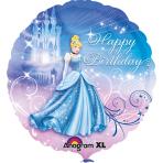 Standard Cinderella Birthday Foil Balloon S60 Packaged 43 cm