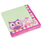 20 Napkins Happy Owl 33 x 33 c