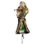 "SuperShape XL ""Chewbacca"" Foil Balloon, P38, packaged, 43 x 96 cm"